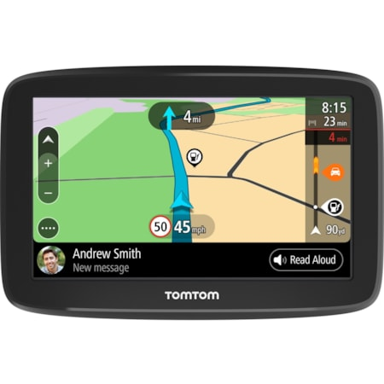 Tomtom GO Basic Automobile Portable GPS Navigator - Portable, Mountable