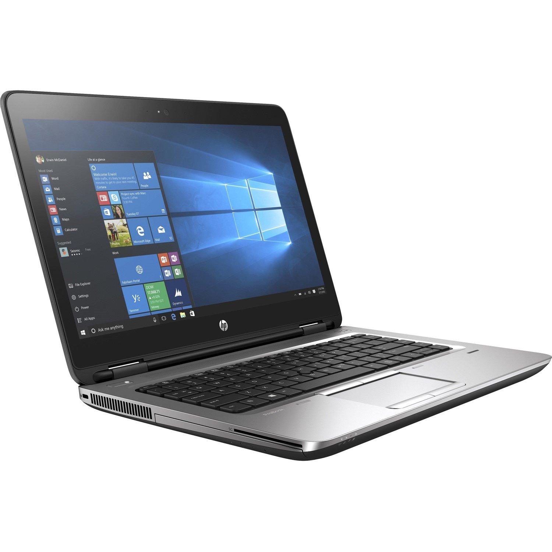 "HP ProBook 640 G3 35.6 cm (14"") LCD Notebook - Intel Core i5 (7th Gen) i5-7200U Dual-core (2 Core) 2.50 GHz - 8 GB DDR4 SDRAM - 256 GB SSD - Windows 10 Pro 64-bit - 1366 x 768"