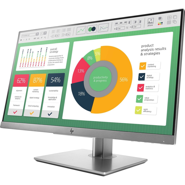 "HP E223 54.6 cm (21.5"") LED LCD Monitor - 16:9 - 5 ms"
