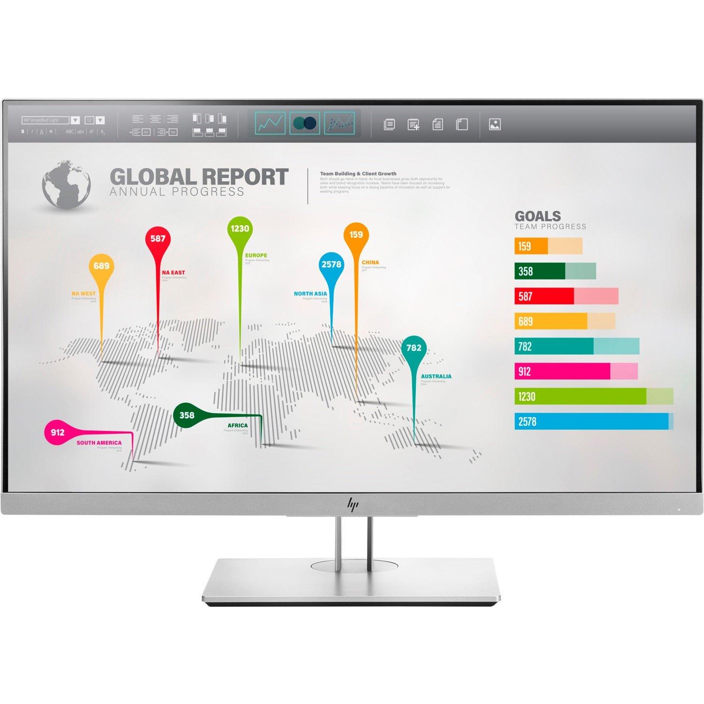 "HP Business E273q 68.6 cm (27"") LED LCD Monitor - 16:9 - 5 ms"