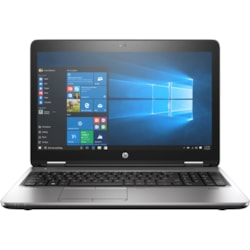 "HP ProBook 650 G3 39.6 cm (15.6"") LCD Notebook - Intel Core i7 (7th Gen) i7-7600U Dual-core (2 Core) 2.80 GHz - 8 GB DDR4 SDRAM - 1 TB HDD - Windows 10 Pro 64-bit - 1920 x 1080"