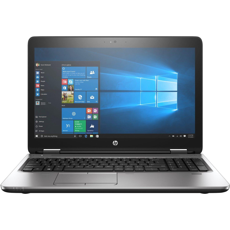 "HP ProBook 650 G3 39.6 cm (15.6"") LCD Notebook - Intel Core i7 (7th Gen) i7-7600U Dual-core (2 Core) 2.80 GHz - 8 GB DDR4 SDRAM - 256 GB SSD - Windows 10 Pro 64-bit - 1920 x 1080"