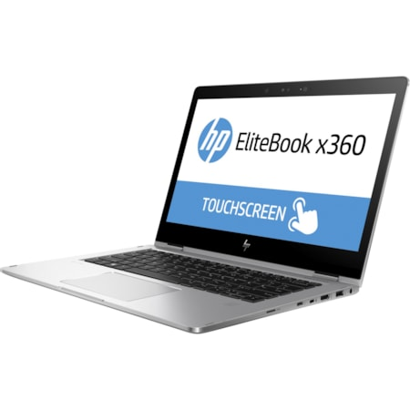"HP EliteBook x360 1030 G2 33.8 cm (13.3"") Touchscreen LCD 2 in 1 Notebook - Intel Core i5 (7th Gen) i5-7200U Dual-core (2 Core) 2.50 GHz - 8 GB DDR4 SDRAM - 128 GB SSD - Windows 10 Pro 64-bit - 1920 x 1080 - In-plane Switching (IPS) Technology, Advanced Hyper Viewing Angle (AHVA) - Convertible - Silver"