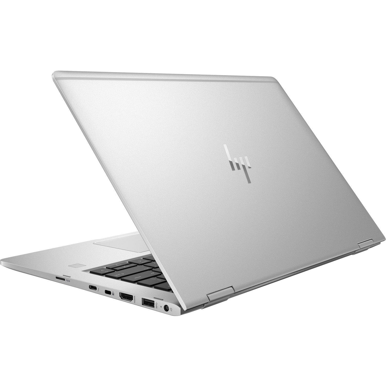 "HP EliteBook x360 1030 G2 33.8 cm (13.3"") Touchscreen LCD 2 in 1 Notebook - Intel Core i5 (7th Gen) i5-7300U Dual-core (2 Core) 2.60 GHz - 8 GB DDR4 SDRAM - 256 GB SSD - Windows 10 Pro 64-bit - 1920 x 1080 - In-plane Switching (IPS) Technology, Advanced Hyper Viewing Angle (AHVA) - Convertible - Silver"