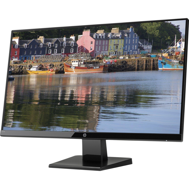 """HP Home 27w 68.6 cm (27"""") Full HD LED LCD Monitor - 16:9 - Black Onyx"""