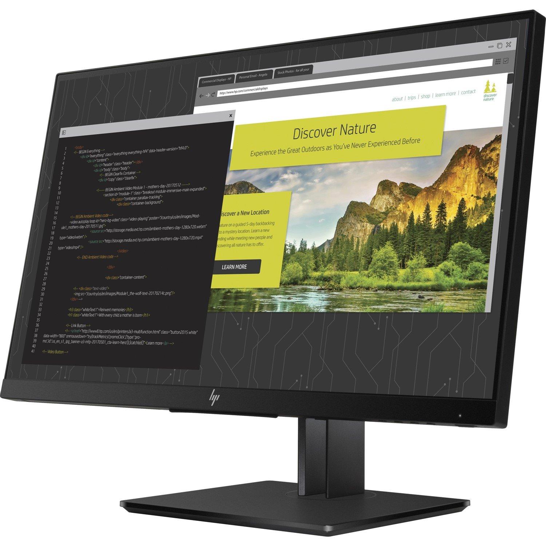 "HP Z24nf G2 60.5 cm (23.8"") Full HD WLED LCD Monitor - 16:9 - Silver"