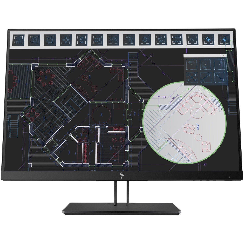 "HP Z24i G2 61 cm (24"") WLED LCD Monitor - 16:10 - 5 ms"