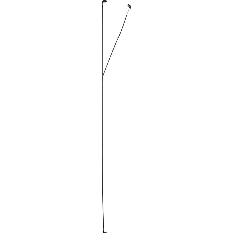 HP 100 Wired Stereo Earphone - Earbud - In-ear - Black