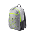 """HP Carrying Case (Backpack) for 39.6 cm (15.6"""") Notebook - Neon Yellow, Grey"""