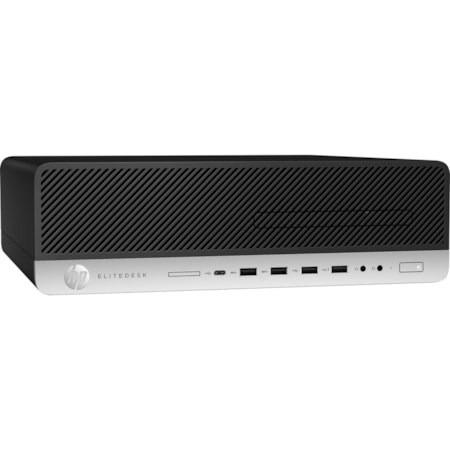 HP EliteDesk 800 G3 Desktop Computer - Core i5 i5-7500 - 8 GB RAM - 128 GB SSD - Small Form Factor