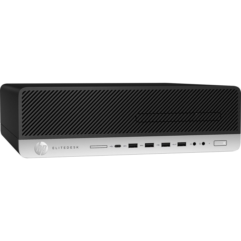HP EliteDesk 800 G3 Desktop Computer - Intel Core i5 (7th Gen) i5-7500 3.40 GHz - 8 GB DDR4 SDRAM - 256 GB SSD - Windows 10 Pro 64-bit - Small Form Factor