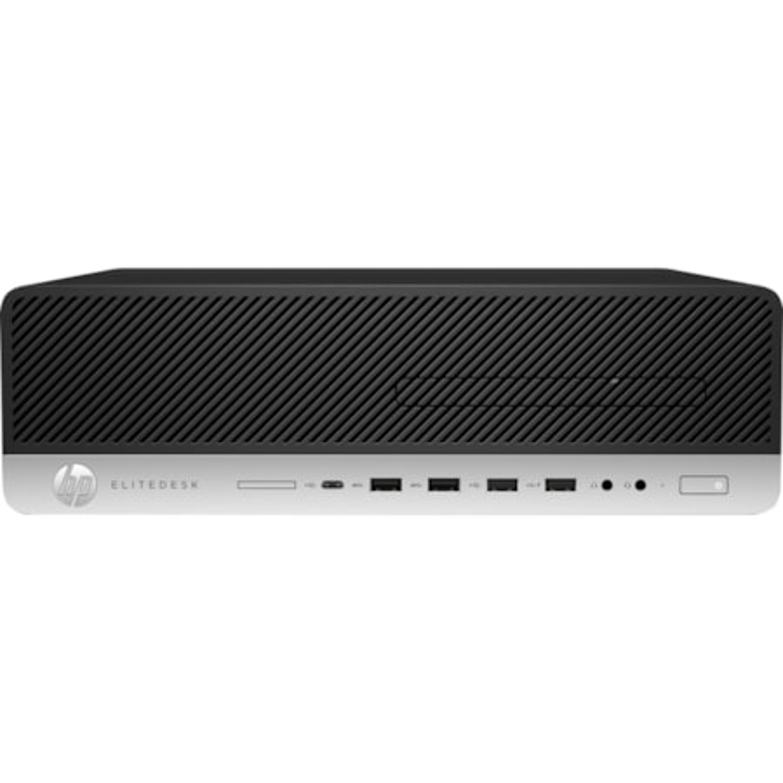 HP EliteDesk 800 G3 Desktop Computer - Intel Core i7 (7th Gen) i7-7700 3.60 GHz - 8 GB DDR4 SDRAM - 256 GB SSD - Windows 10 Pro 64-bit - Small Form Factor
