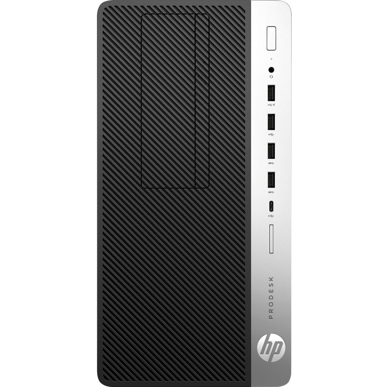HP Business Desktop ProDesk 600 G3 Desktop Computer - Intel Core i7 (7th Gen) i7-7700 3.60 GHz - 8 GB DDR4 SDRAM - 256 GB SSD - Windows 10 Pro 64-bit - Micro Tower