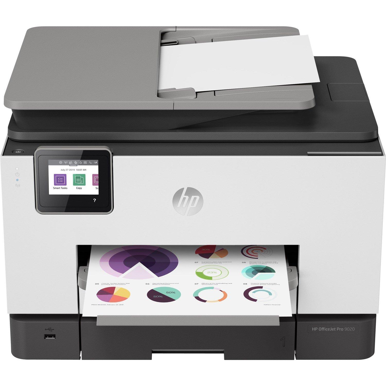 HP Officejet Pro 9020 9020 Inkjet Multifunction Printer - Colour