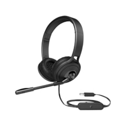 HP Pavilion 500 Wired Stereo Headset - Over-the-head - Circumaural