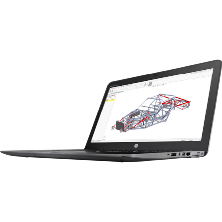 """HP ZBook 15 G4 39.6 cm (15.6"""") LCD Mobile Workstation - Intel Core i7 (7th Gen) i7-7820HQ Quad-core (4 Core) 2.90 GHz - 8 GB DDR4 SDRAM - 256 GB SSD - Windows 10 Pro 64-bit - 3840 x 2160 - DreamColor, In-plane Switching (IPS) Technology - Space Silver"""