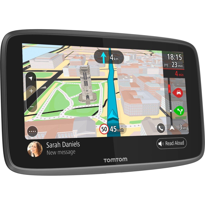 Tomtom GO 6200 Automobile Portable GPS Navigator - Mountable, Portable