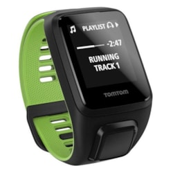 TomTom Runner 3 Smart Watch - Wrist Wearable - Black, Green