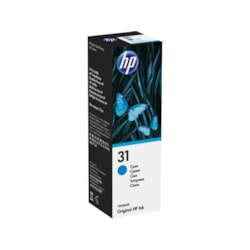HP 31 Ink Refill Kit - Cyan - Inkjet