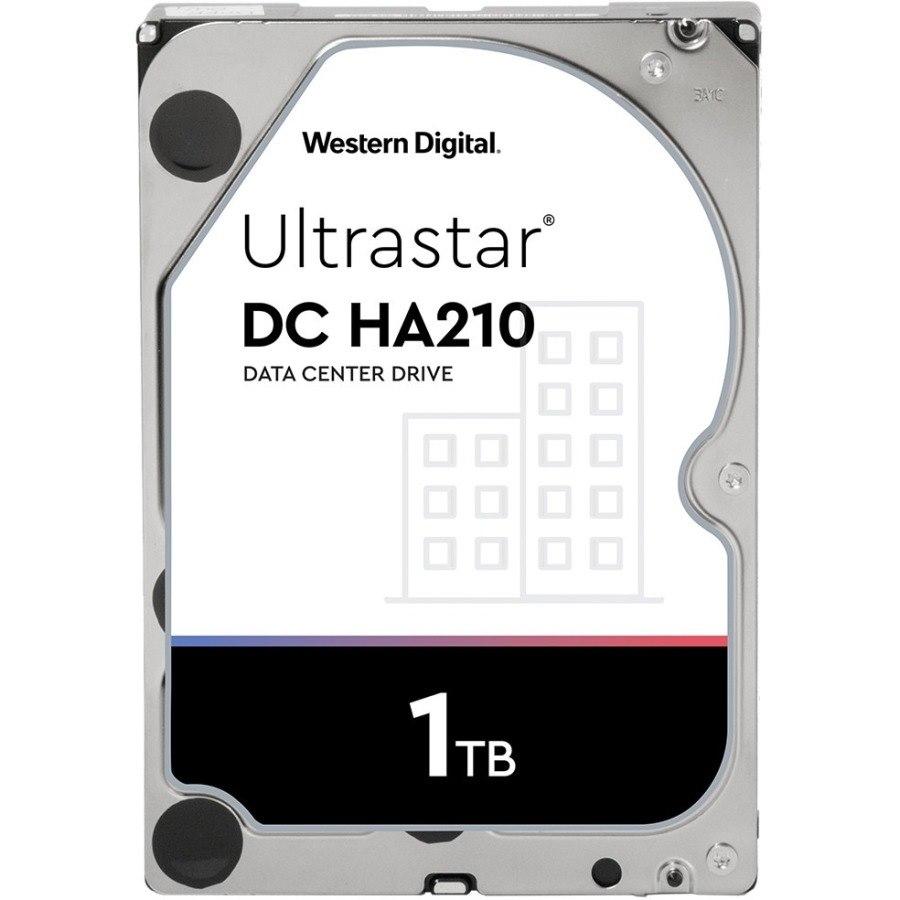 """HGST Ultrastar DC HA210 HUS722T1TALA604 1 TB Hard Drive - 512n Format - SATA (SATA/600) - 3.5"""" Drive - Internal"""
