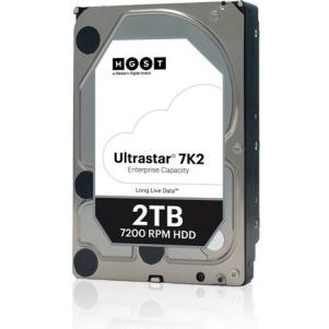 """HGST Ultrastar DC HA210 HUS722T2TALA604 2 TB Hard Drive - 512n Format - SATA (SATA/600) - 3.5"""" Drive - Internal"""