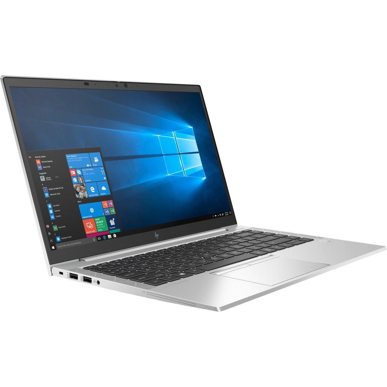 "HP EliteBook 840 G7 35.6 cm (14"") Notebook - Full HD - 1920 x 1080 - Intel Core i7 (10th Gen) i7-10510U Quad-core (4 Core) 1.80 GHz - 8 GB RAM - 256 GB SSD"