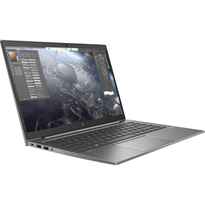 "HP ZBook Firefly 14 G7 35.6 cm (14"") Mobile Workstation - Full HD - 1920 x 1080 - Intel Core i5 (10th Gen) i5-10210U Quad-core (4 Core) 1.60 GHz - 8 GB RAM - 512 GB SSD"