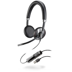 Plantronics Blackwire C725-M Wired Stereo Headset - Over-the-head - Supra-aural