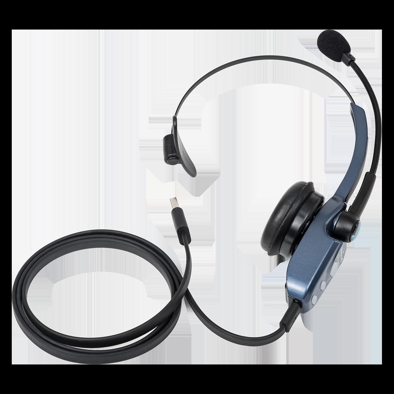 VXI BlueParrott B250-XTS Wireless Bluetooth 36 mm Mono Headset - Over-the-head - Supra-aural