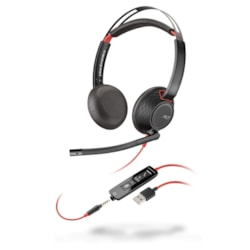 Plantronics Blackwire 5220 USB A Wired Stereo Headset - Over-the-ear - Supra-aural
