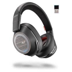 Plantronics Voyager 8200 UC Wired/Wireless Over-the-head Stereo Headset - Black