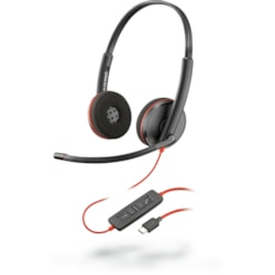 Plantronics Blackwire C3220 Wired Over-the-head Stereo Headset