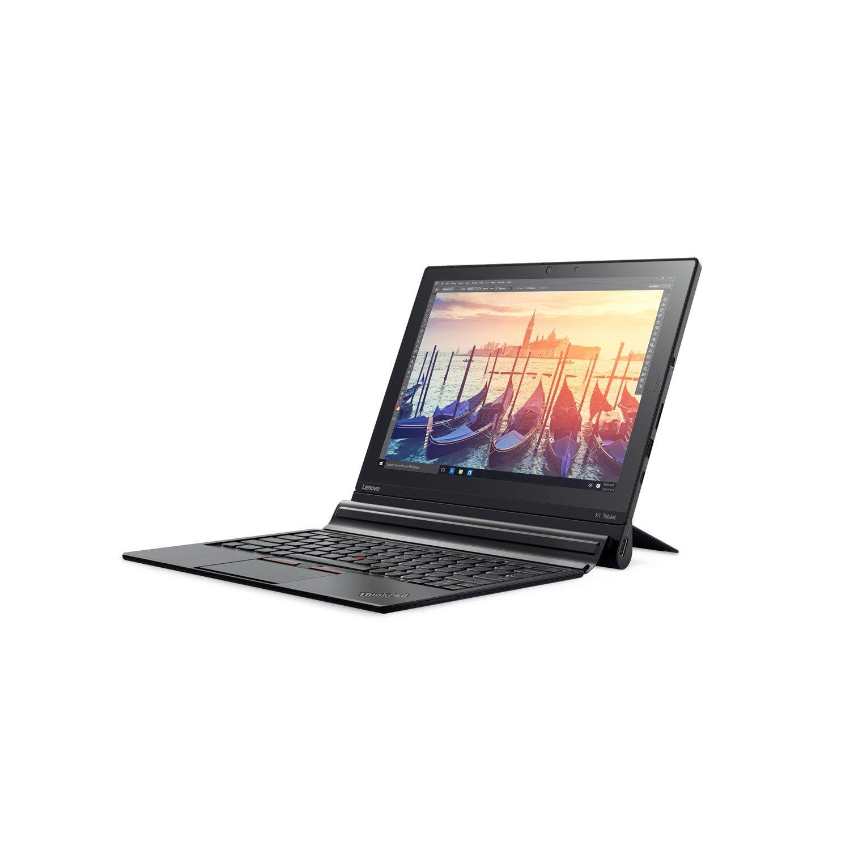"Lenovo ThinkPad X1 Tablet 20GG000CAU 30.5 cm (12"") Touchscreen 2 in 1 Notebook - Intel Core M (6th Gen) m5-6Y54 Dual-core (2 Core) 1.10 GHz - 8 GB LPDDR3 - 256 GB SSD - Windows 10 Pro 64-bit (English) - 2160 x 1440 - In-plane Switching (IPS) Technology - Hybrid - Black"