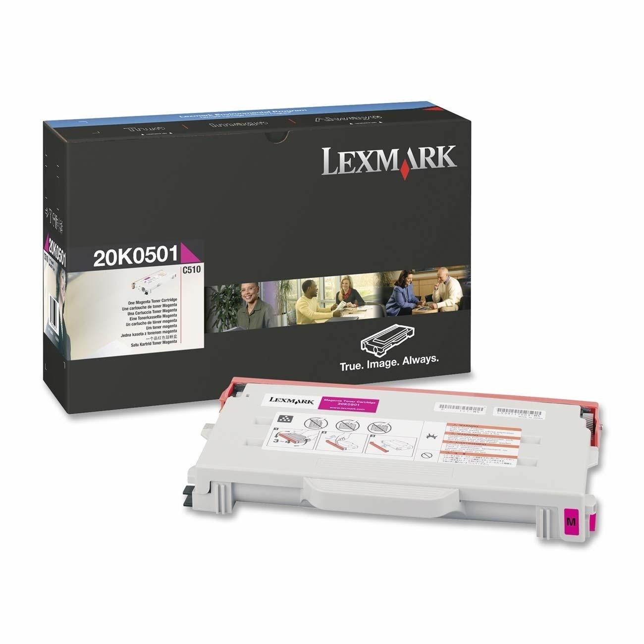 Lexmark 20K0501 Original Toner Cartridge - Magenta
