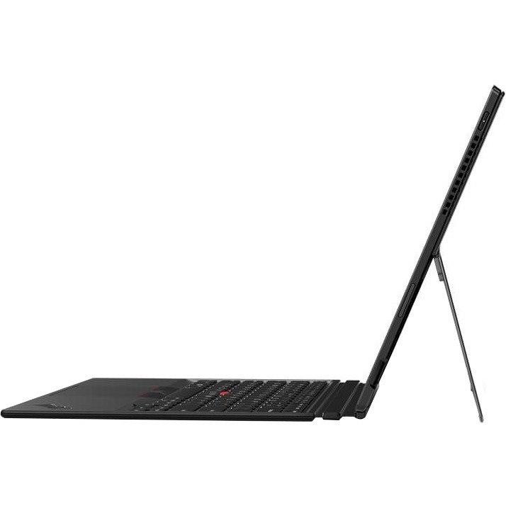 "Lenovo ThinkPad X1 Tablet 3rd Gen 20KK001KAU 33 cm (13"") Touchscreen LCD 2 in 1 Notebook - Intel Core i5 (8th Gen) i5-8250U Quad-core (4 Core) 1.60 GHz - 8 GB DDR4 SDRAM - 256 GB SSD - Windows 10 Pro 64-bit - 3000 x 2000 - In-plane Switching (IPS) Technology - Black"