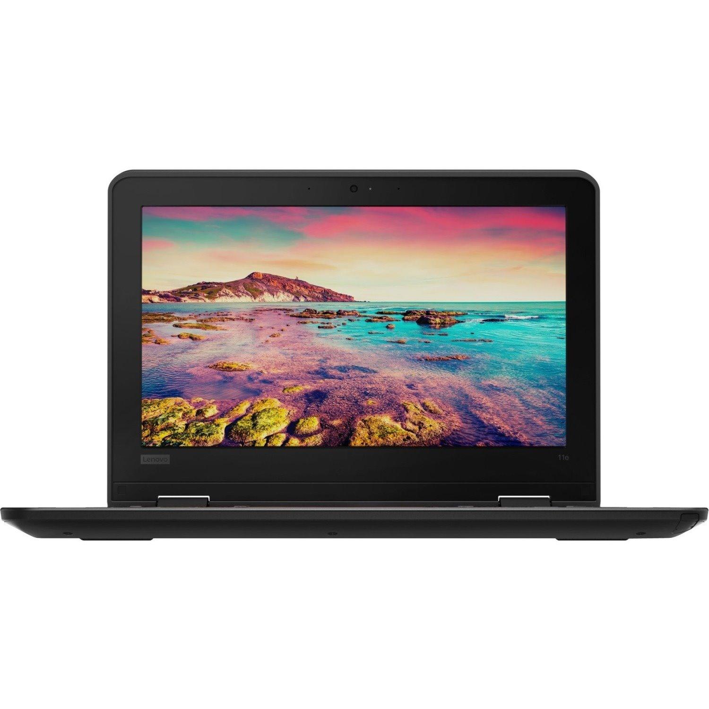 "Lenovo ThinkPad 11e 5th Gen 20LNS09W00 29.5 cm (11.6"") Touchscreen Netbook - 1366 x 768 - Intel Celeron N4100 Quad-core (4 Core) 1.10 GHz - 4 GB RAM - 128 GB Flash Memory - Graphite Black"