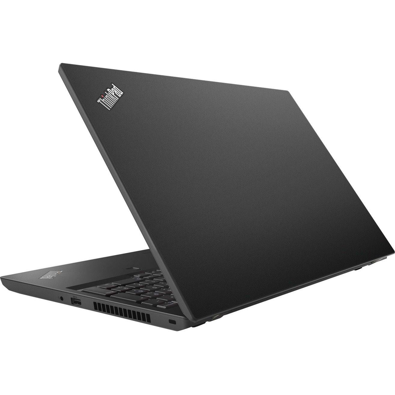 "Lenovo ThinkPad L580 20LW002FAU 39.6 cm (15.6"") LCD Notebook - Intel Core i7 (8th Gen) i7-8550U Quad-core (4 Core) 1.80 GHz - 8 GB DDR4 SDRAM - 256 GB SSD - Windows 10 Pro 64-bit - 1920 x 1080 - In-plane Switching (IPS) Technology - Graphite Black"