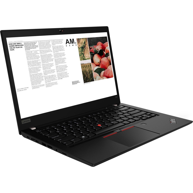 "Lenovo ThinkPad T490 20N2S04100 35.6 cm (14"") Notebook - 1920 x 1080 - Core i5 i5-8265U - 16 GB RAM - 256 GB SSD - Glossy Black"