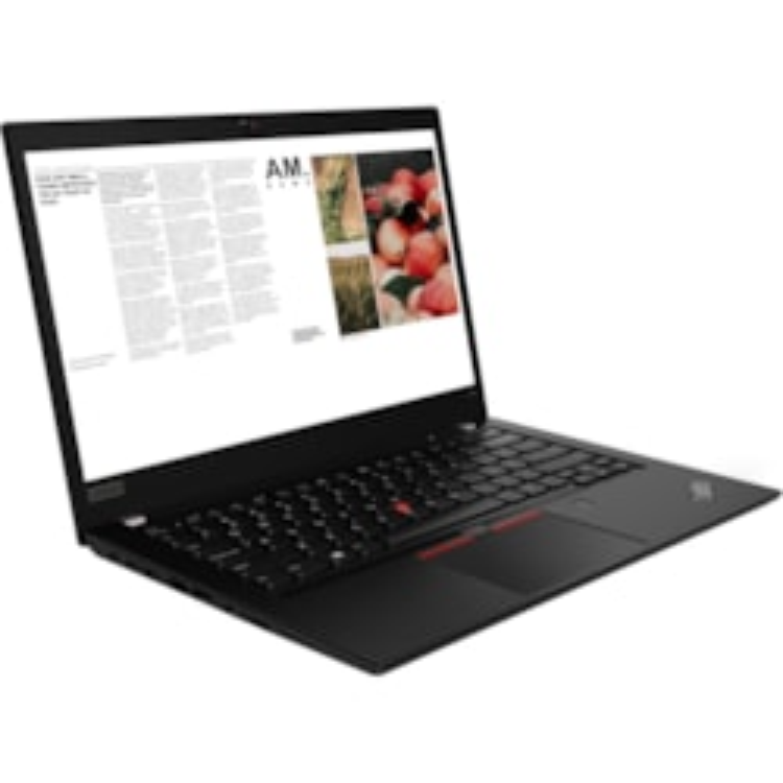 "Lenovo ThinkPad T490 20N2S04Q00 35.6 cm (14"") Notebook - 1920 x 1080 - Core i7 i7-8565U - 16 GB RAM - 512 GB SSD - Glossy Black"