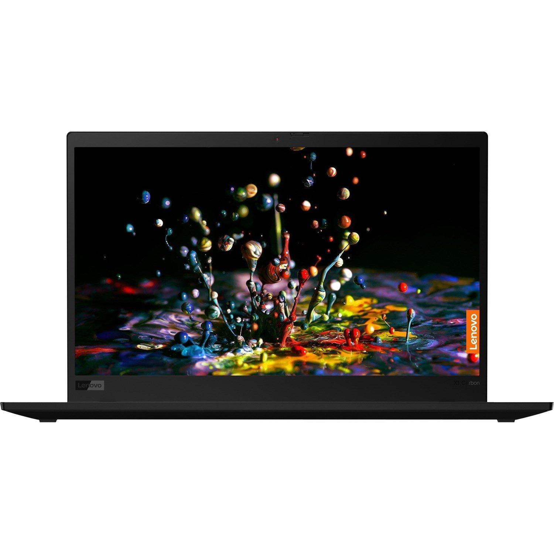 "Lenovo ThinkPad X1 Carbon 7th Gen 20R10022AU 35.6 cm (14"") Ultrabook - Full HD - 1920 x 1080 - Intel Core i5 (10th Gen) i5-10210U Quad-core (4 Core) 1.60 GHz - 8 GB RAM - 256 GB SSD - Black Paint"