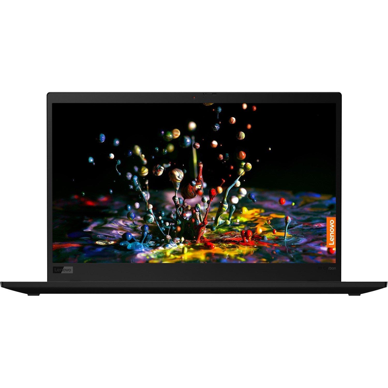 "Lenovo ThinkPad X1 Carbon 7th Gen 20R10027AU 35.6 cm (14"") Touchscreen Ultrabook - Full HD - 1920 x 1080 - Intel Core i5 (10th Gen) i5-10210U Quad-core (4 Core) 1.60 GHz - 16 GB RAM - 256 GB SSD - Black Paint"