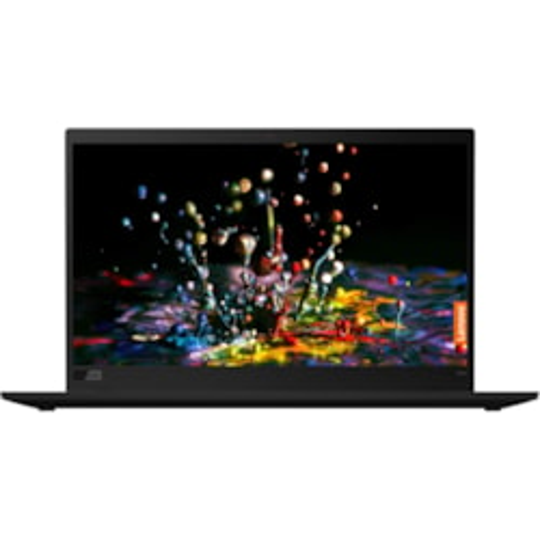 "Lenovo ThinkPad X1 Carbon 7th Gen 20R1002AAU 35.6 cm (14"") Ultrabook - 2560 x 1440 - Core i7 i7-10510U - 8 GB RAM - 256 GB SSD - Black Paint"