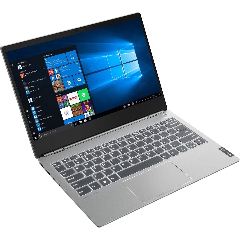 """Lenovo ThinkBook 13s-IWL 20R9007CAU 33.8 cm (13.3"""") Notebook - 1920 x 1080 - Core i7 i7-8565U - 16 GB RAM - 512 GB SSD - Mineral Gray"""