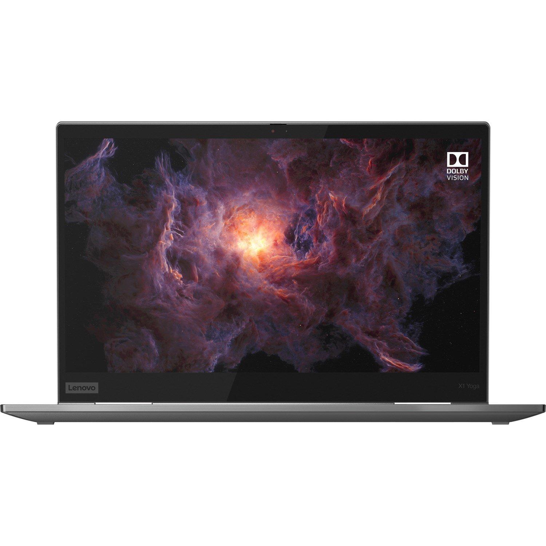 "Lenovo ThinkPad X1 Yoga 4th Gen 20SA000YAU 35.6 cm (14"") Touchscreen 2 in 1 Ultrabook - Full HD - 1920 x 1080 - Intel Core i5 (10th Gen) i5-10210U Quad-core (4 Core) 1.60 GHz - 8 GB RAM - 256 GB SSD - Iron Grey"