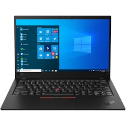 "Lenovo ThinkPad X1 Carbon 8th Gen 20U90050AU 35.6 cm (14"") Touchscreen Ultrabook - Full HD - 1920 x 1080 - Intel Core i5 (10th Gen) i5-10210U Quad-core (4 Core) 1.60 GHz - 8 GB RAM - 256 GB SSD - Black"