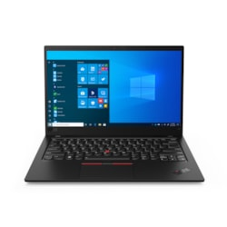 "Lenovo ThinkPad X1 Carbon 8th Gen 20U9007MAU 35.6 cm (14"") Notebook - Full HD - 1920 x 1080 - Intel Core i5 (10th Gen) i5-10210U Quad-core (4 Core) 1.60 GHz - 8 GB RAM - 256 GB SSD - Black Paint"