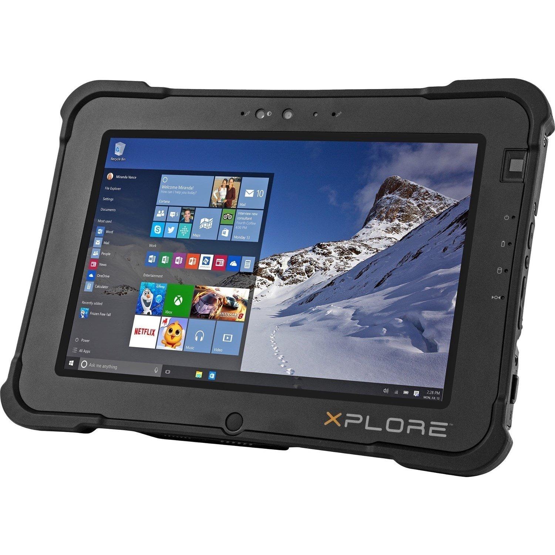 "Xplore XSLATE L10 Tablet - 25.7 cm (10.1"") - 8 GB RAM - 128 GB SSD - Windows 10 - 4G"