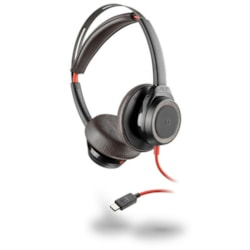 Plantronics Blackwire 7225 Wired Over-the-head Stereo Headset - Black