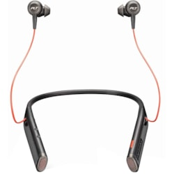 Plantronics Voyager B6200 USB-C Wireless Earbud, Behind-the-neck Stereo Headset - Black