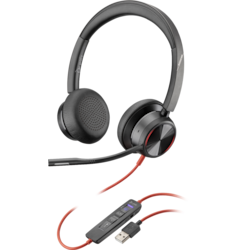 Plantronics Blackwire BW8225-M Wired Over-the-head Stereo Headset
